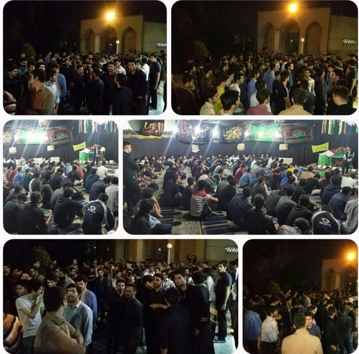 دانشجویان صنعت نفت در اهواز و آبادان تجمع کردند + عکس