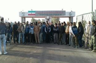 اعتراض جوانان شهرستان کارون به استخدام نیروهای غیربومی در نیشکر سلمان فارسی