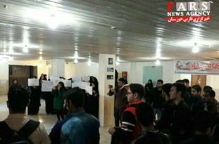 تحصن دانشجویان دانشگاه علوم و فنون دریایی خرمشهر به روز دوم کشید