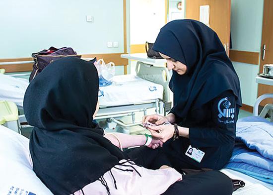 کمبود ۲۵ هزار پرستار در وزارت بهداشت