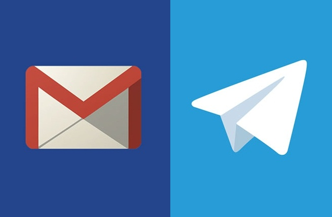 نحوه دریافت پیام های جیمیل در تلگرام
