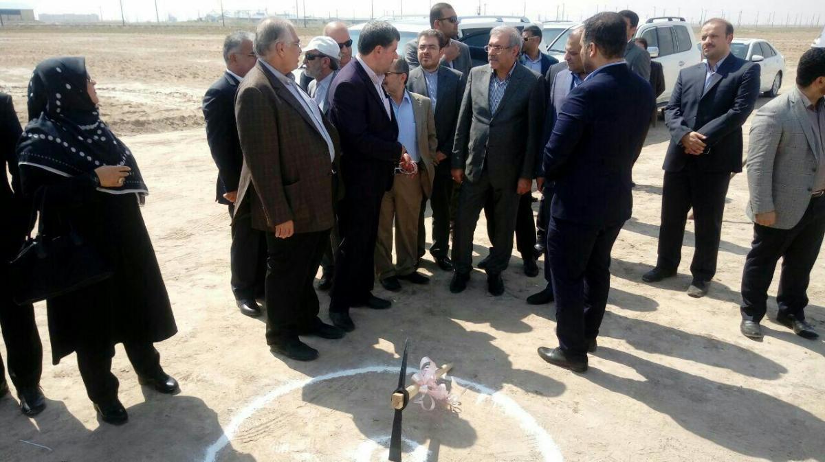 آغاز عملیات احداث مجتمع صنایع نورد فولاد هما در خرمشهر