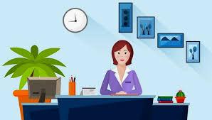 استخدام منشی  دفتری خانم