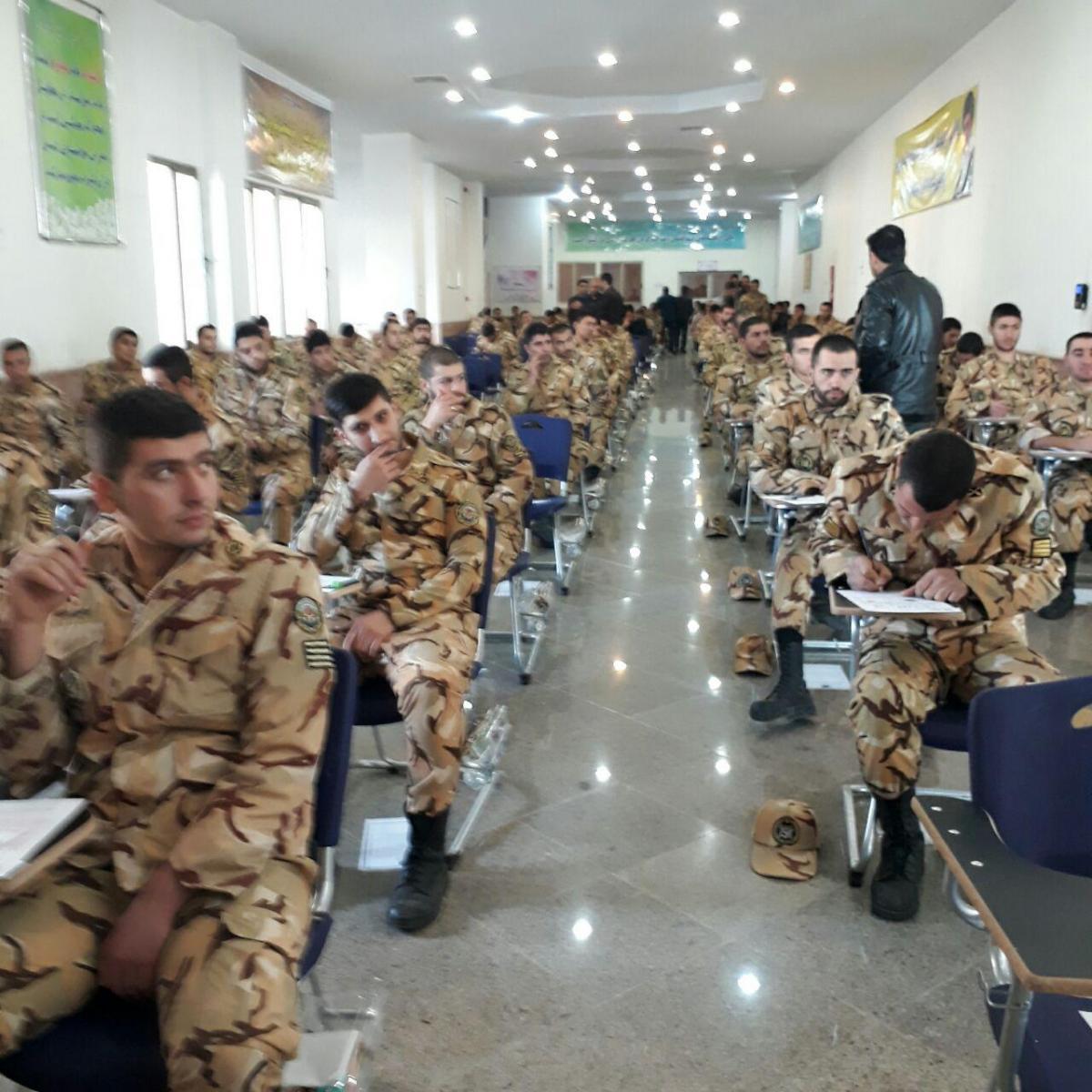 40 هزار نفر در آزمون اشتغال پذیری سربازان وظیفه شرکت کردند